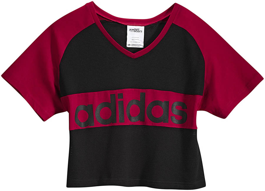 adidas Originals by Jeremy Scott - Spring/Summer 2012 - JS Cropped Linear Tee X30163
