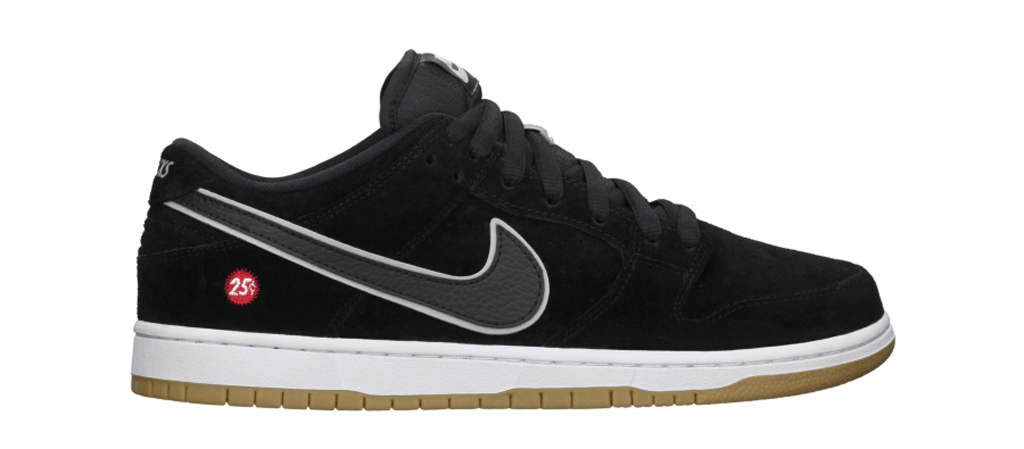 brand new 5dd3a 41f19 UPDATE  The Quartersnacks x Nike SB Dunk Low s Nike.com release has been  rescheduled to 9 12 14.
