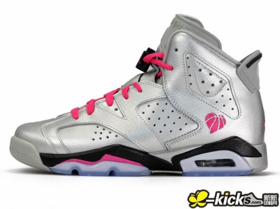 huge selection of 34464 56a43 Air Jordan 6 Retro GS - Valentine's Day | Sole Collector