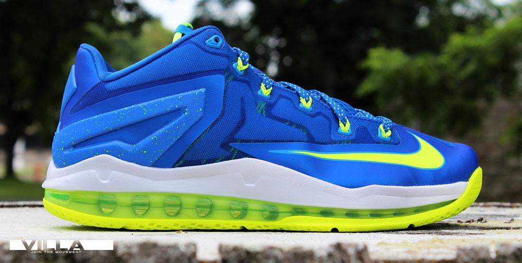 Nike LeBron 11 Sprite Royal Blue Volt