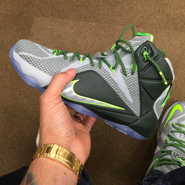 DJ Envy Picks Up Nike LeBron XII 12 Dunk Force