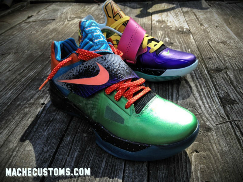 "Mache's ""What the KD?"" Custom Nike KD IV Up for Auction (1)"