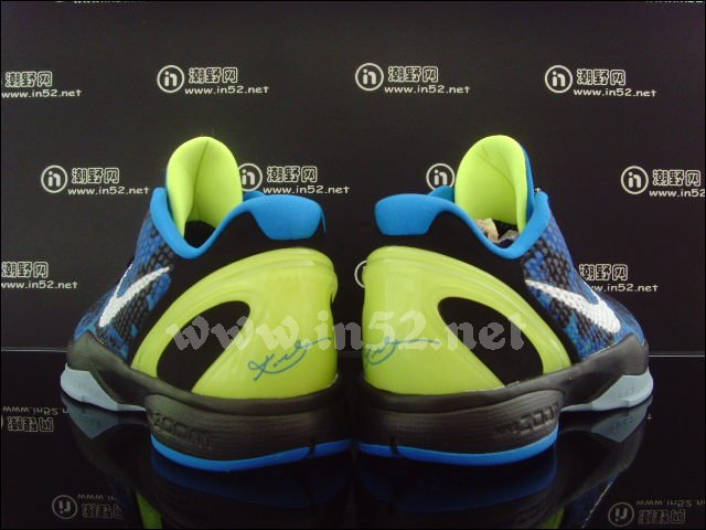 Nike Zoom Kobe VI Photo Blue White Black Volt 429659-401