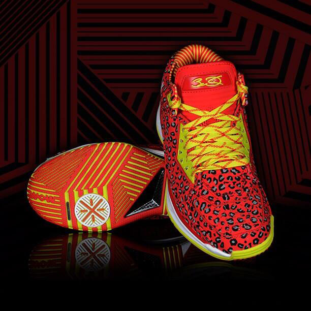 Li-Ning Way of Wade 2 Red Leopard