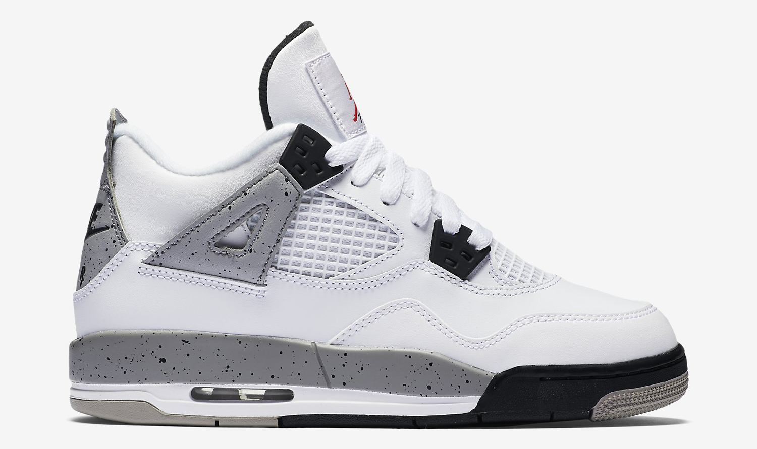 White Retro: Here Are All The Kids 'White Cement' Air Jordan 4s