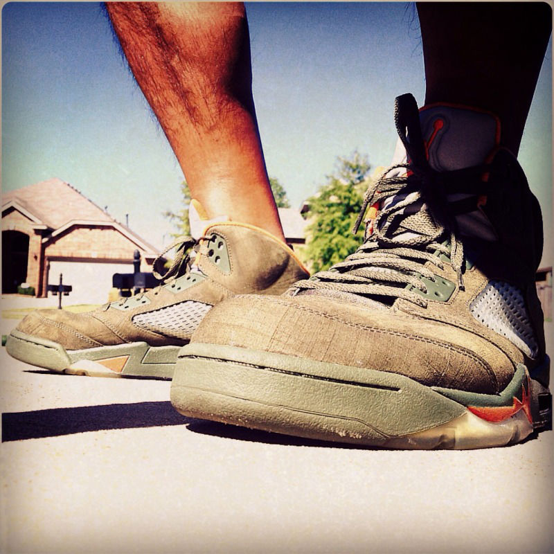 Spotlight // Forum Staff Weekly WDYWT? - 10.12.13 - Air Jordan V 5 Retro Olive by Tito_Deo