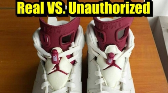 new style 6deb6 92c66 How To Tell If Your  Maroon  Air Jordan 6s Are Real or Fake   Sole Collector