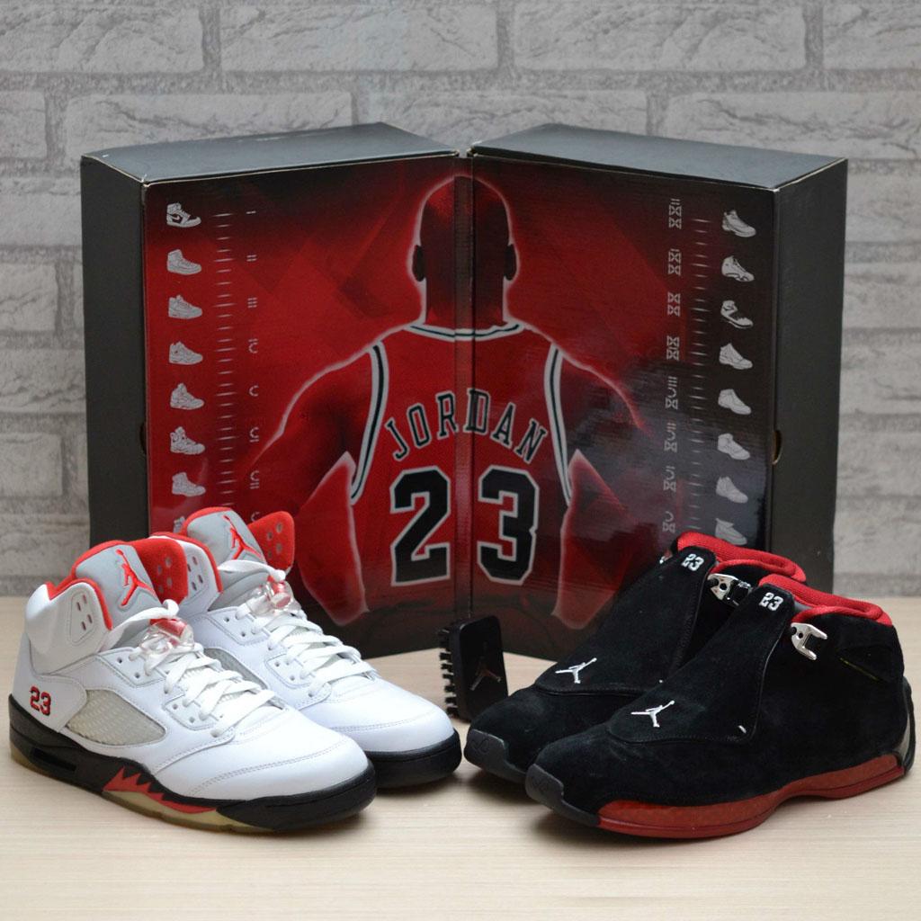 da5c0fe5b4666 Air Jordan 11 12 Countdown Pack shoes