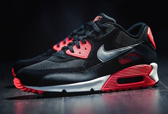 air max 90 infrared black