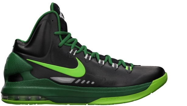Nike KD 5 Black/Electric Green