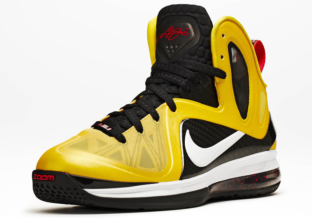 newest collection a65aa 7d9cf Nike LeBron 9 P.S. Elite Varsity Maize Black White 516958-700 (3)