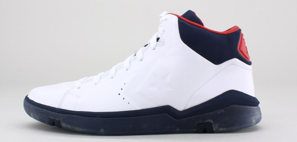 Converse Pro Leather 2012 Mid White Navy Red (1)
