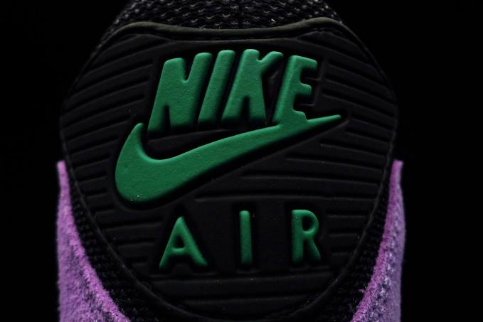 0e13ededd1 Nike Air Max 90 Hyperfuse PRM - Black / Stadium Green - New Images ...