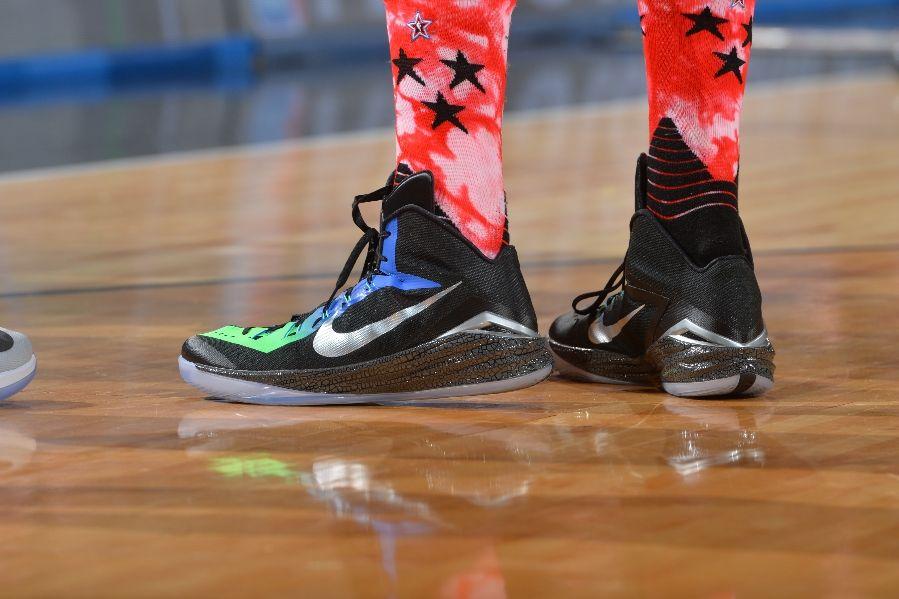 Marc Gasol wearing an 'All-Star' Nike Hyperdunk 2014 PE (2)