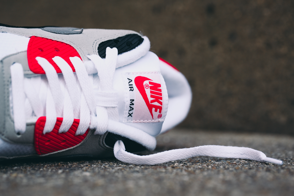 buy popular 72108 7fec8 Your Best Look Yet at the 2015 Infrared Air Max 90s