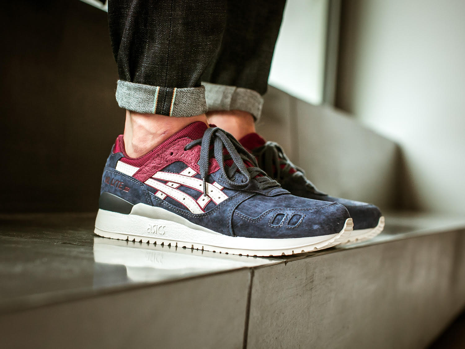 ce0bc3290b72 Asics Gel-Lyte III India Ink Right