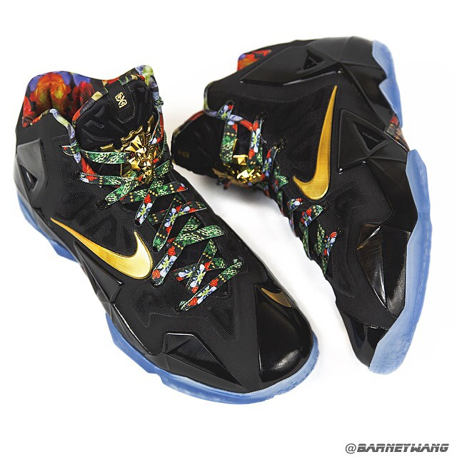 3e56bd92652a Watch The Throne  in these Exclusive LeBron 11s