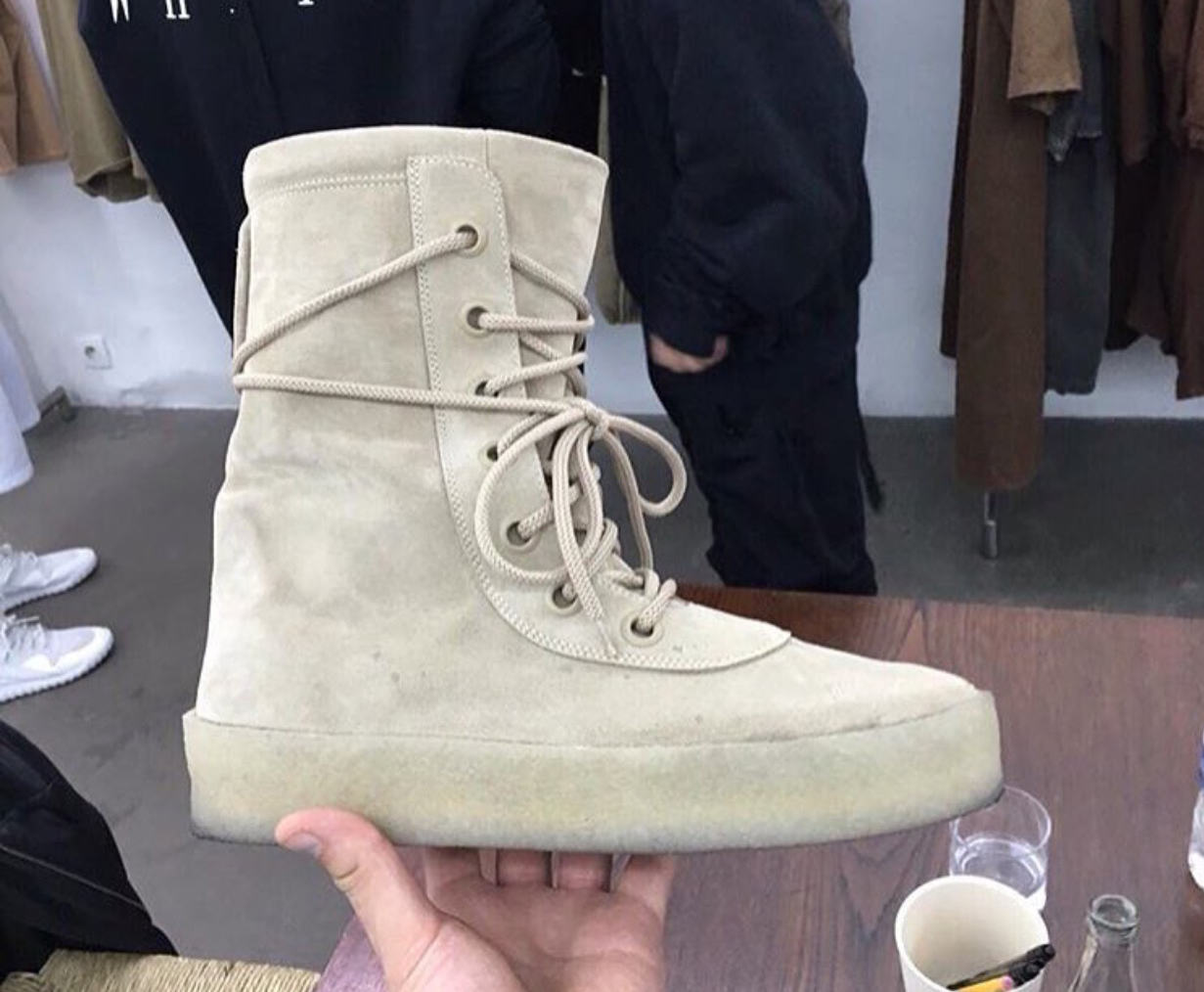 First Look at Kanye West s Yeezy Season 2 Boots  88c9682ed6ac