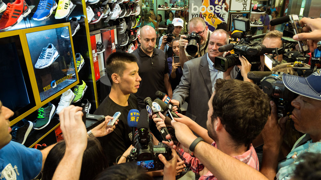 Photos from jeremy lins adidas meet and greet at the culver city jeremy lin meets fans at culver city foot locker 1 m4hsunfo Choice Image