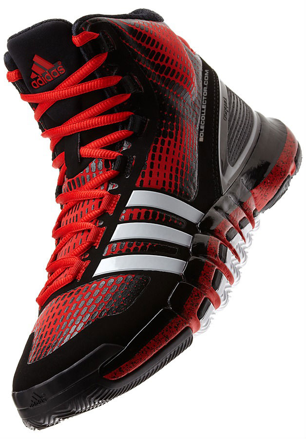 adidas Crazyquick Black Red White Speckle G66811 (3)