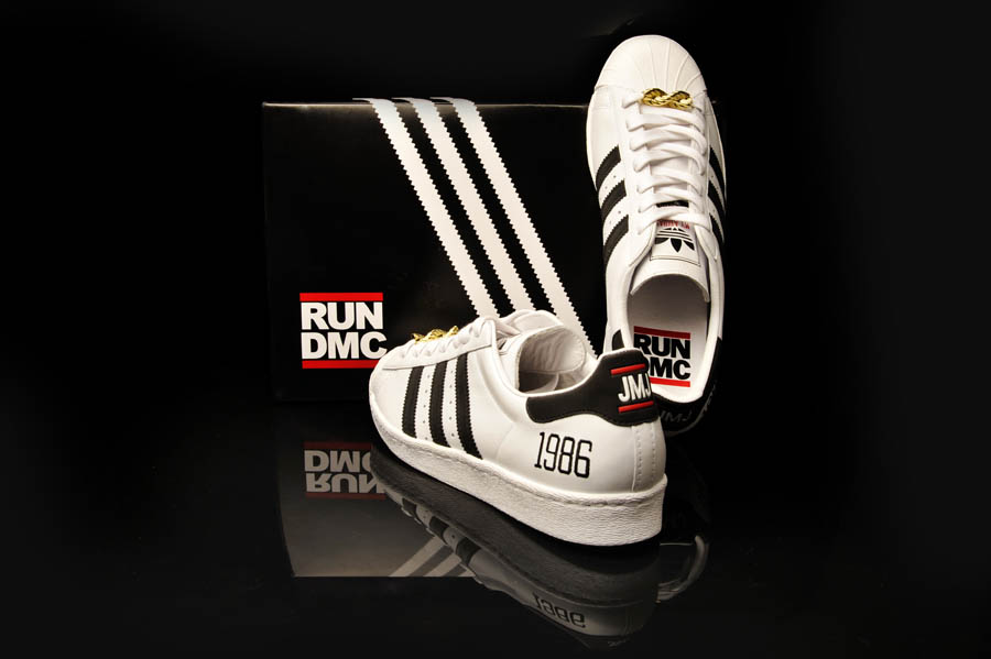 "adidas Originals Superstar 80s - Run DMC ""My adidas"" 25th Anniversary 16"