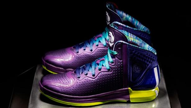 adidas Rose 4 Ray Purple/Running White-Collegiate Purple