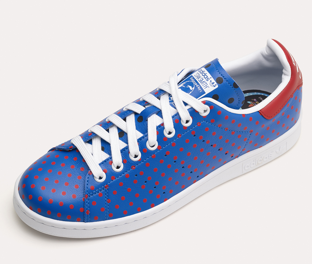 pharrell polka dots the adidas stan smith sole collector. Black Bedroom Furniture Sets. Home Design Ideas