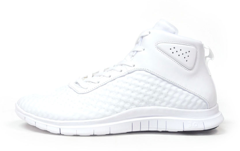 sports shoes 2d6e4 e8aaf The Upcoming Nike Free Hypervenom Mid in All-White | Sole ...