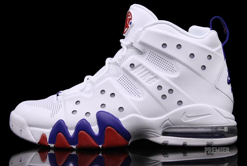 nike air max barkley white blue red