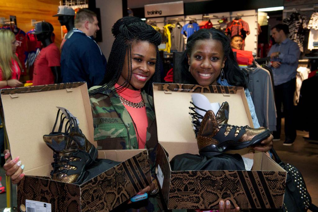 0ca775254ed Recap    Teyana Taylor x adidas Originals Harlem GLC Launch