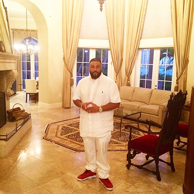 DJ Khaled wearing Air Jordan VI 6 History of Air Jordan