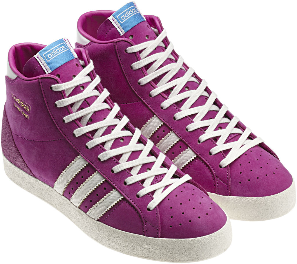adidas Originals Basket Profi OG Womens Vivid Pink Metallic Gold White Vapor Q23188 (2)