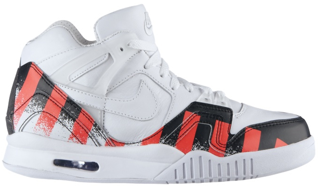 Nike Air Tech Challenge II SP  French Open  621358-116 White White-Laser  Crimson 479867999