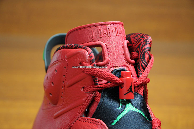 Air Jordan VI 6 Red History of Air Jordan 694091-625 (7)
