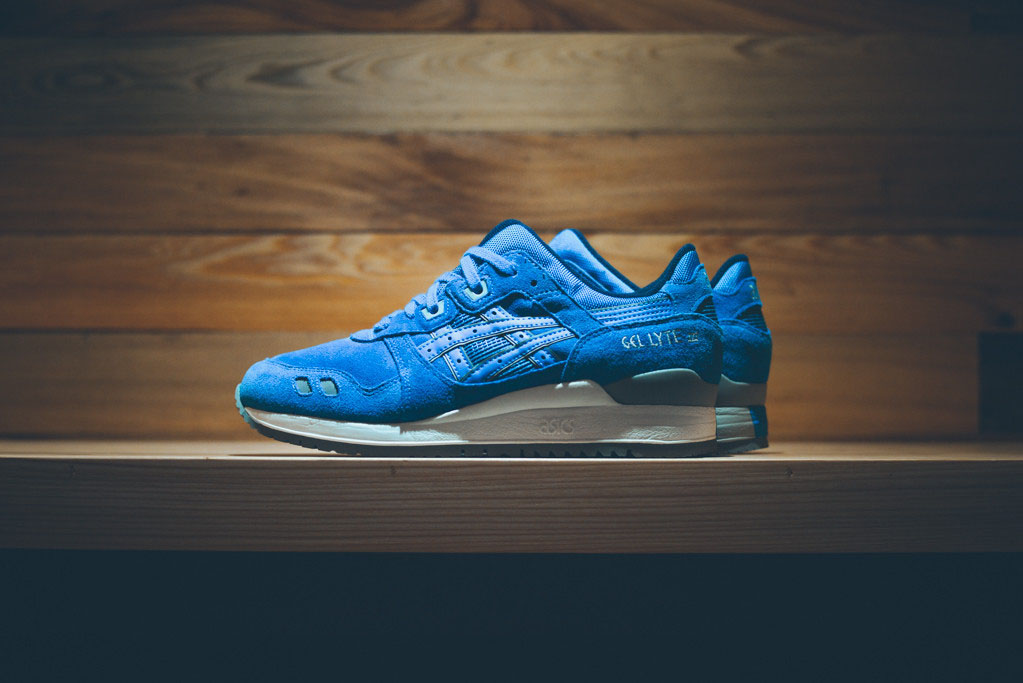 hot sale online 8b474 8b182 Blue Suede Covers the Latest Asics Gel-Lyte III | Sole Collector