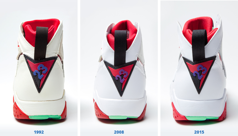 8dd24306035 How Do the 2015 'Hare' Jordan 7s Compare to the Originals? | Sole Collector