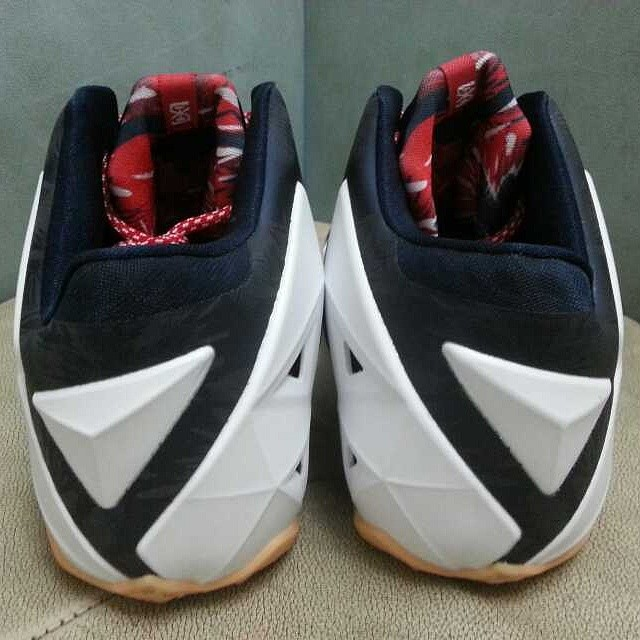 more photos a7640 5219b Nike LeBron XI 11 Independence Day USA Release Date 616175-164 (4)