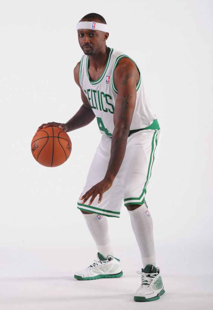 Jason Terry wearing Reebok SubLite Pro Rise