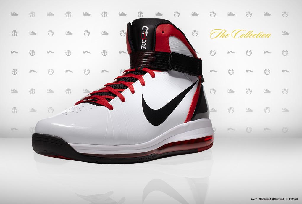 3ece2a655 ... Nike Air Max Hyperdunk 2010 Carlos Boozer Home PE ...
