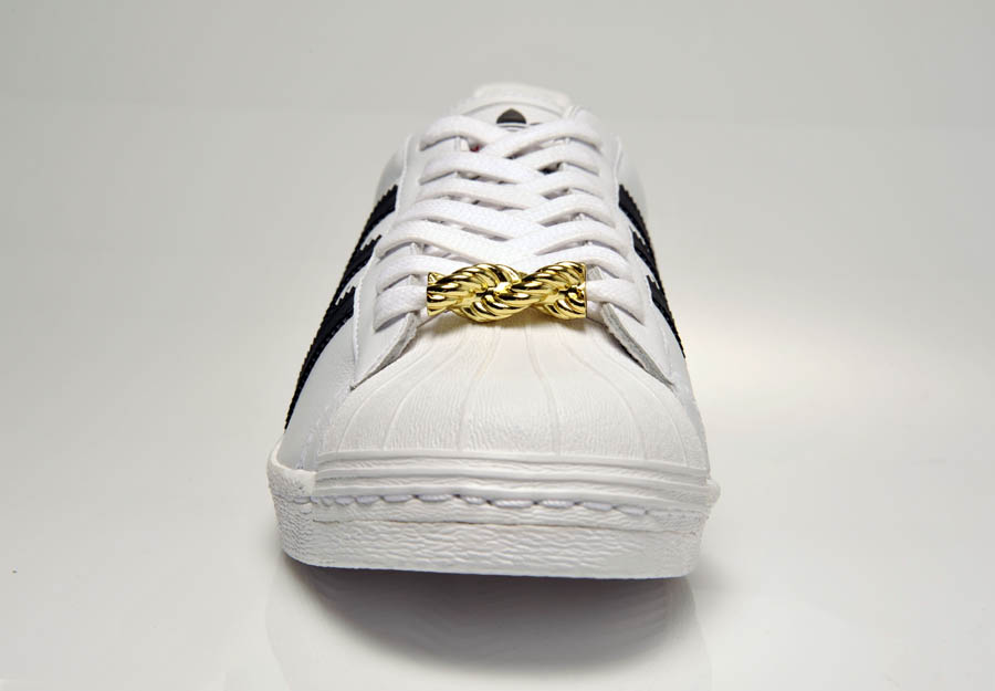"adidas Originals Superstar 80s - Run DMC ""My adidas"" 25th Anniversary 32"