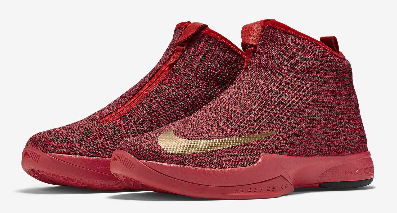 timeless design c2e05 a12d0 Nike Kobe Icon Red Gold
