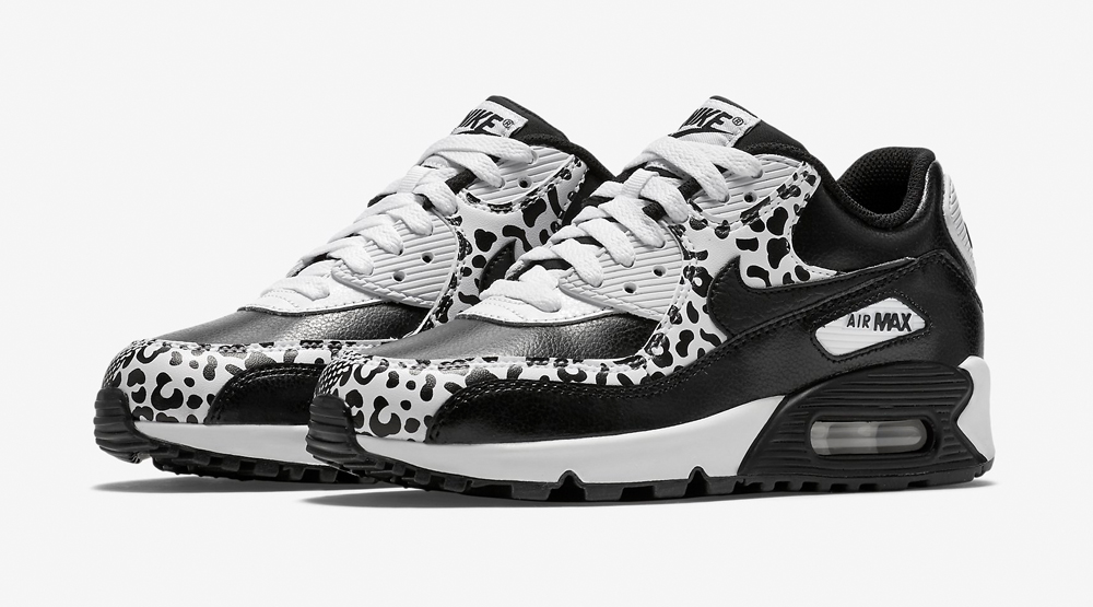 nike air max 90 leopard print (black\/white) pre-order super
