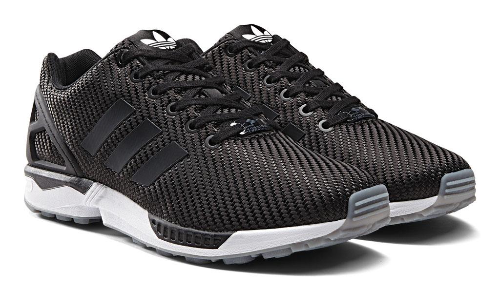 c08779dfc adidas Originals ZX Flux Ballistic Woven Pack Black (6)