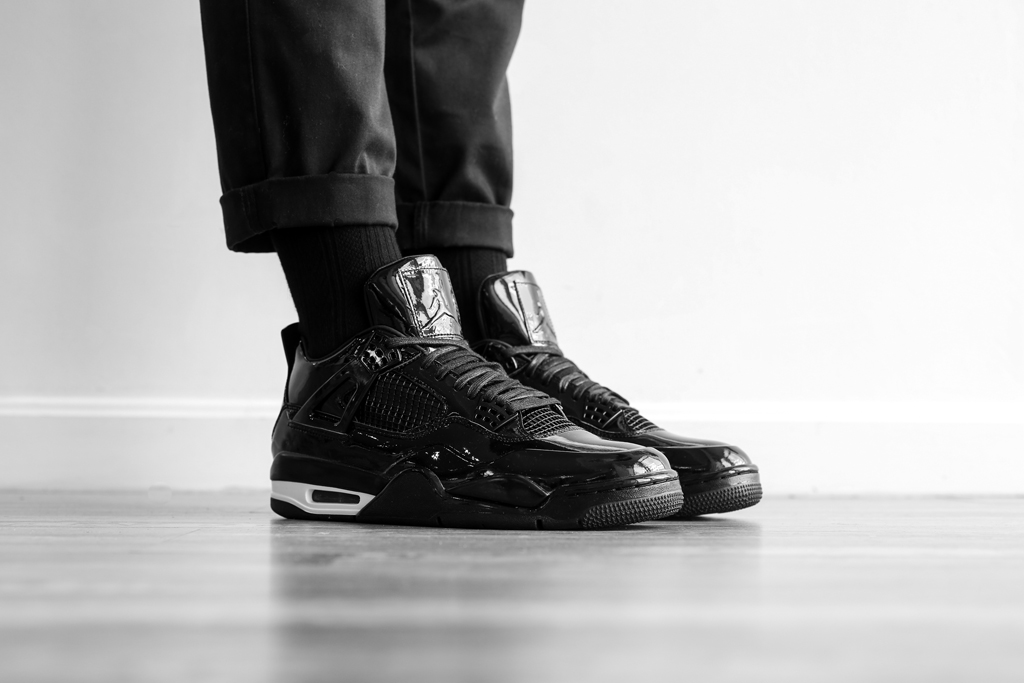 5bf60b8cb40b See How the Air Jordan 11Lab4 Looks On-Feet