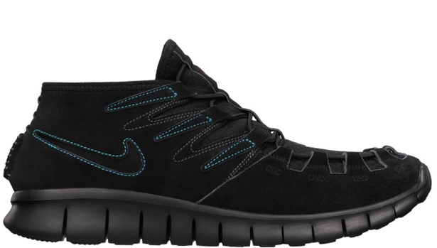 Nike Free Forward Moc N7 Black/Black-Midnight Fog-Dark Turquoise