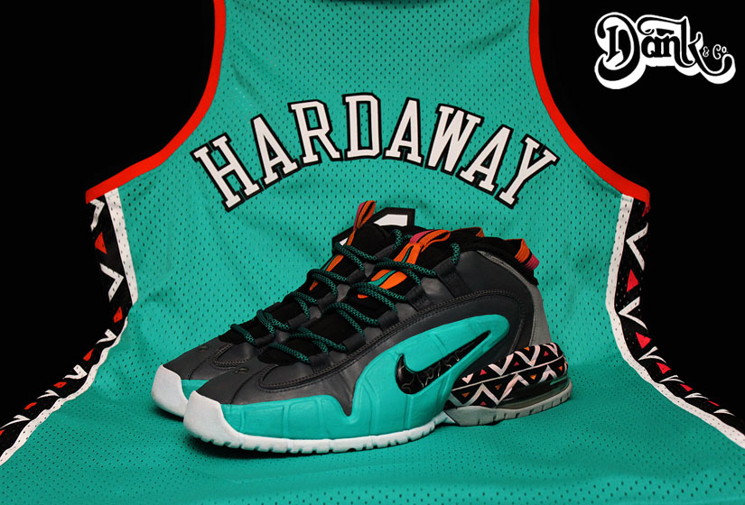 cheap for discount 823bb 24d94 Nike Air Penny 1 '1996 All-Star Game' by Dank Customs | Sole ...