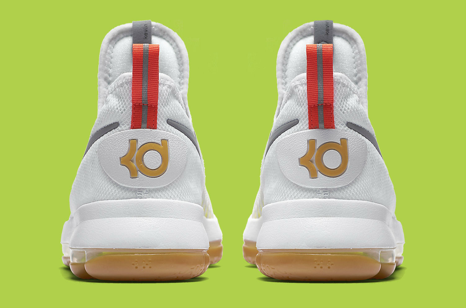 Multicolor Nike KD 9 Heel 843392-900
