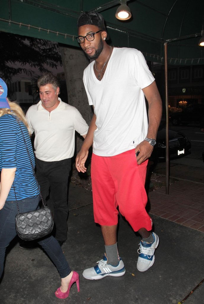 Andre Drummond wearing adidas TS Lightswitch Gil (1)