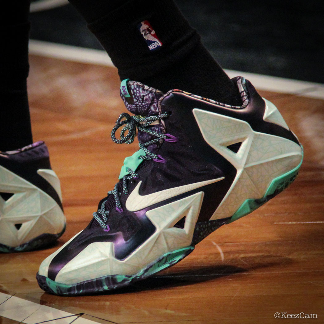 Dionte Christmas wearing Nike LeBron 11 All-Star (1)