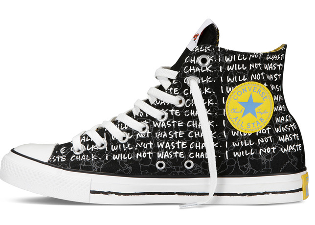 c28a8cb24774 The Simpsons x Converse Chuck Taylor All Star Collection will release on  Saturday